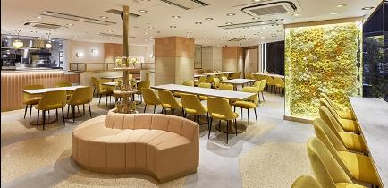 ロクシタンカフェ渋谷店ブーケ・ド・プロヴァンス