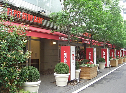 F1 PIT STOP CAFÉ 六本木店サムネイル