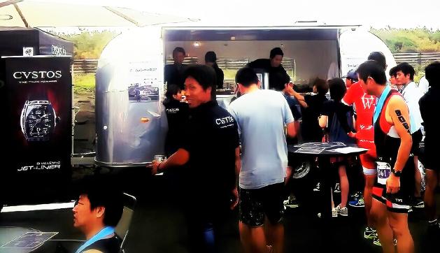 CVSTOS triathlon&surf  九十九里浜会場サムネイル